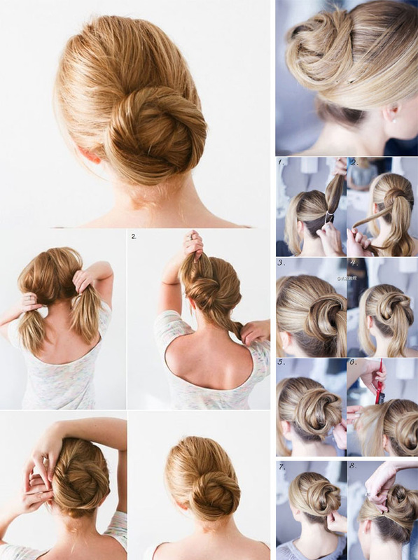 How to make hairstyles for girls with medium hair